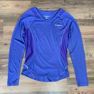 Brooks Purple Running Long Sleeve